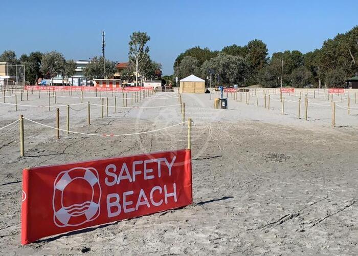 """Al mare in sicurezza con il progetto """"Safety Beach"""""""