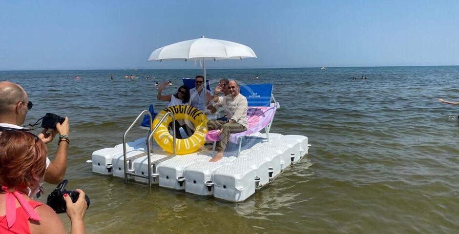 La novità dell'estate prende il largo a Riccione