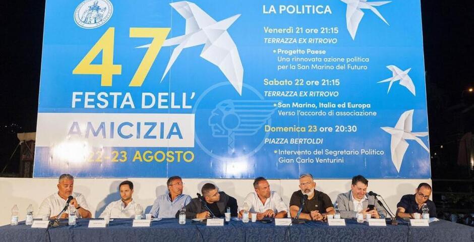 Festa dell'Amicizia, seconda serata tra maggioranza e opposizione