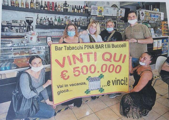 Colpo grosso a Bellaria: vinti 500mila euro