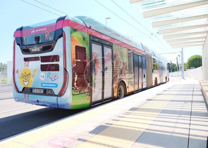 La Notte Rosa col Metromare e in bus sulla Riviera