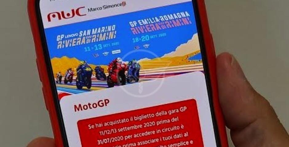 MotoGp: con la nuova app 'Mwc' percorsi sicuri e spettacolo assicurato