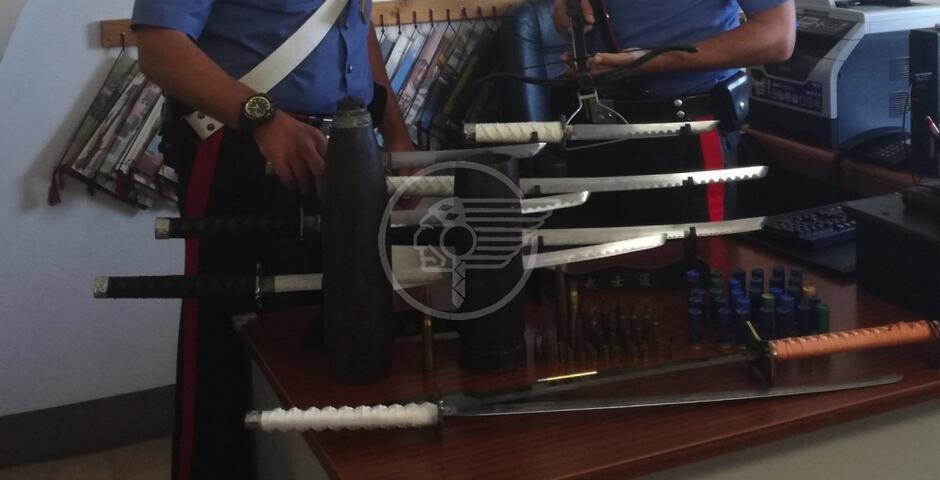 """Museo"" di guerra in casa, antiquario arrestato a San Clemente"
