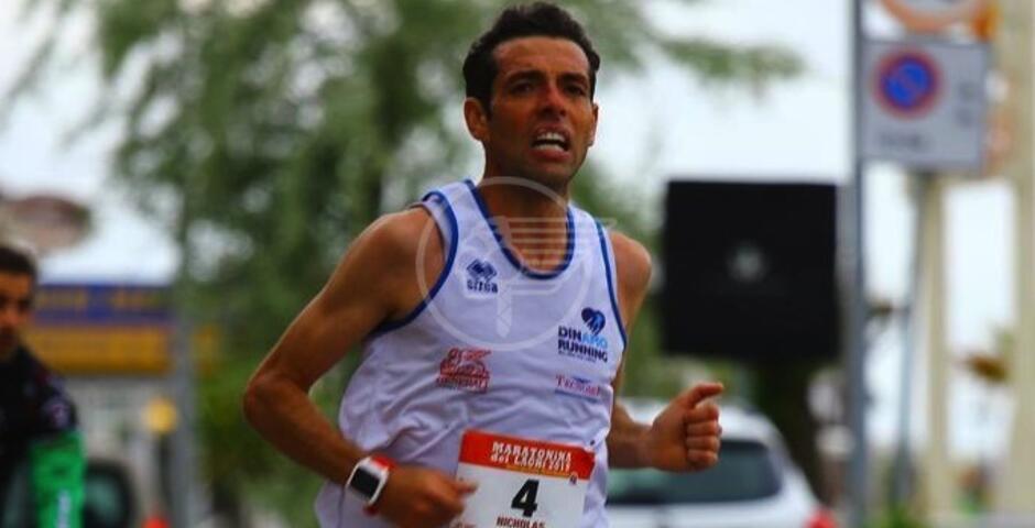 De Nicolò tricolore nei 5000 metri ai Campionati Nazionali Master