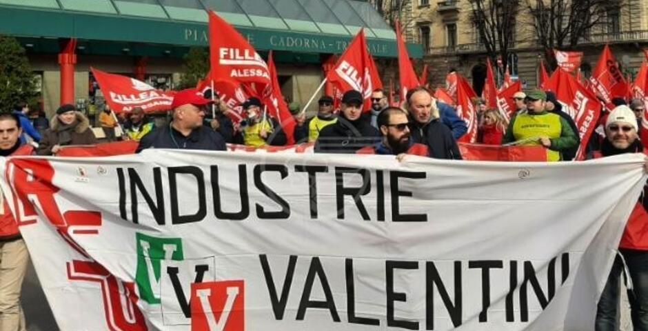 Crisi delle Industrie Valentini: convocato il tavolo regionale