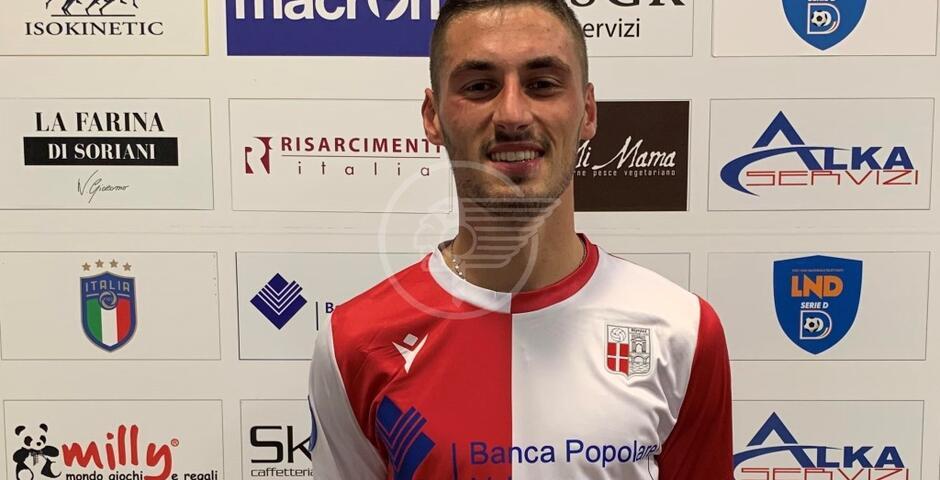Il difensore 21enne Giorgio Viti veste il biancorosso