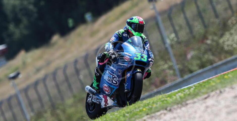 Enea Bastianini si laurea campione del mondo in Moto2