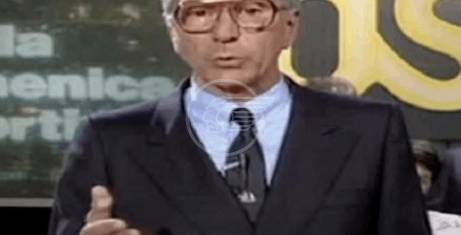 Morto Alfredo Pigna volto storico della Domenica Sportiva