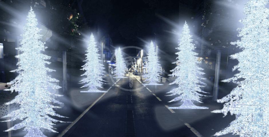 Tutti i particolari e le curiosità del Christmas Star nella Perla