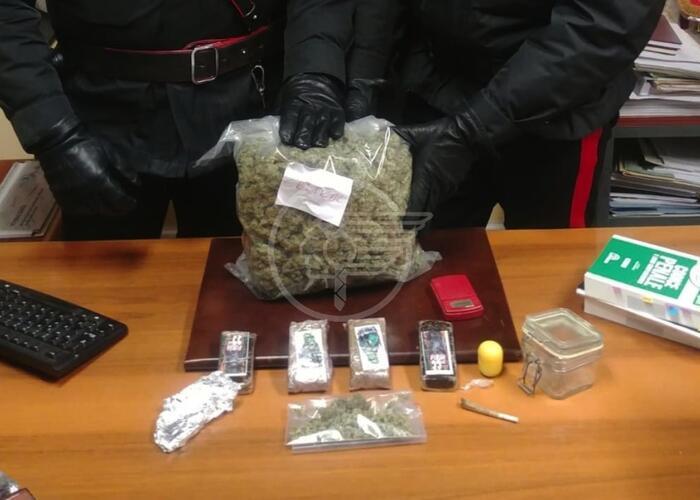 Sammarinese tradito da uno spinello, gli trovano un chilo e mezzo di droga