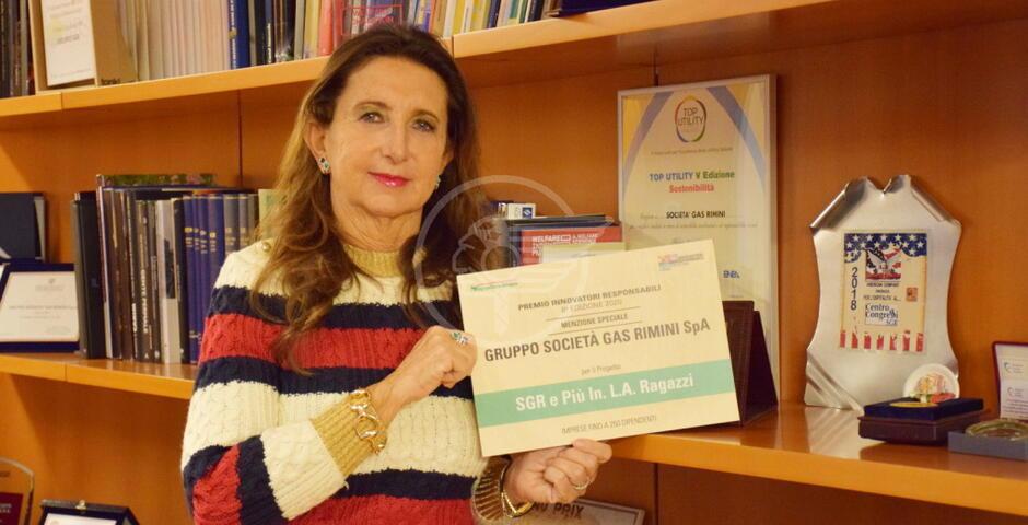 Al Gruppo Sgr menzione speciale del Premio Innovatori Responsabili 2020