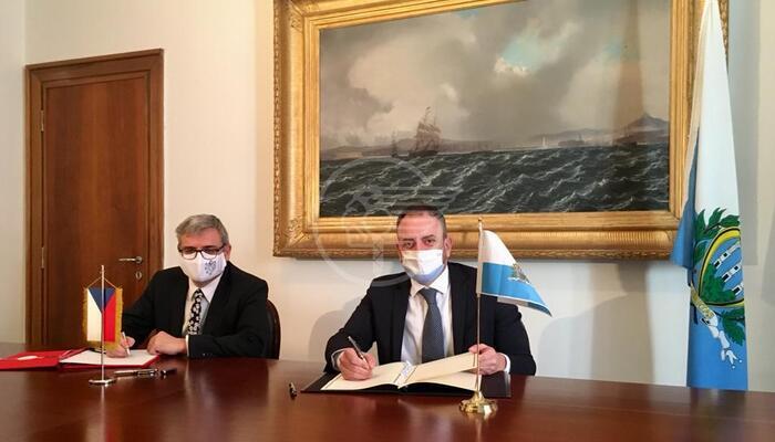 Raggiunta un'importante intesa tra San Marino e la Repubblica Ceca