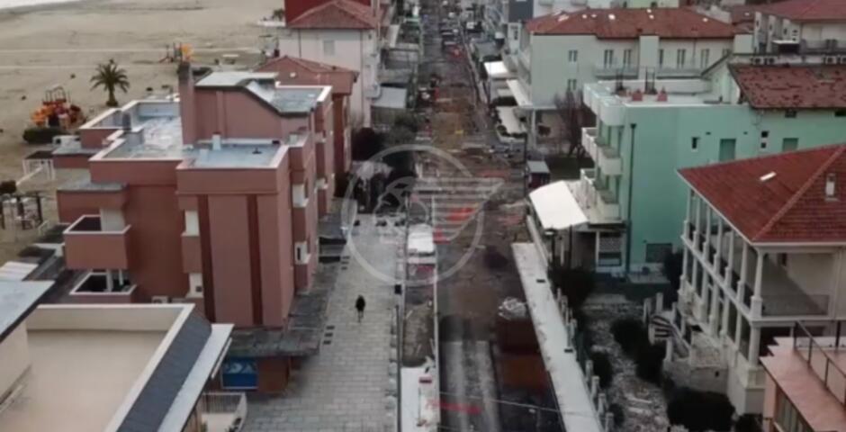 Sottopassi ferroviari di Viserba: a fine mese riapre la linea ferroviaria