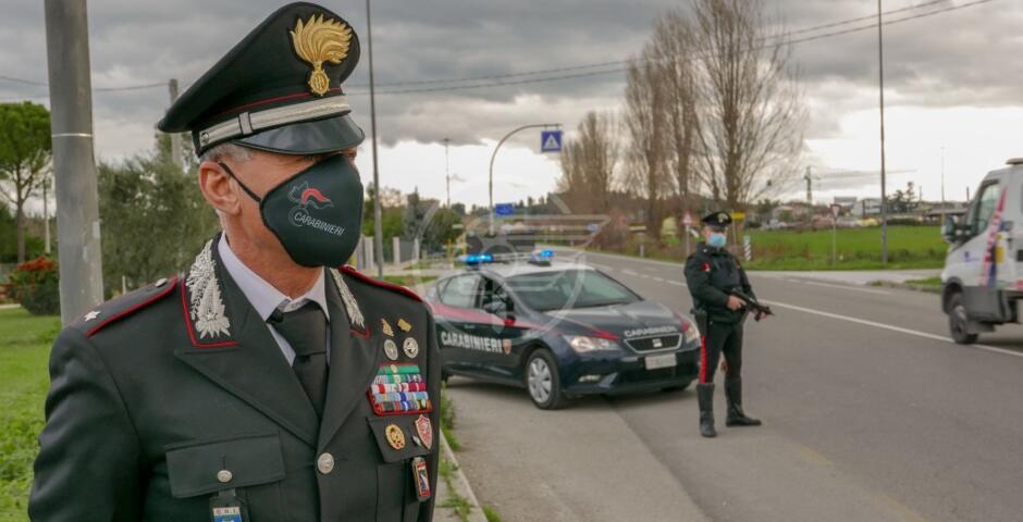 A Miramare e Viserba controlli e denunce dei Carabinieri