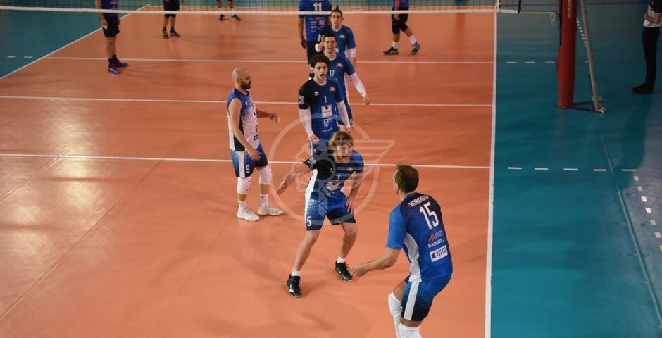 Volley B maschile: vittoria netta (3-0) del Romagna Banca a Foligno