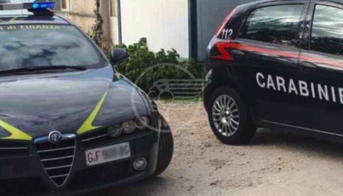 Carabinieri e Finanza smascherano un sodalizio criminale: 9 le misure cautelari