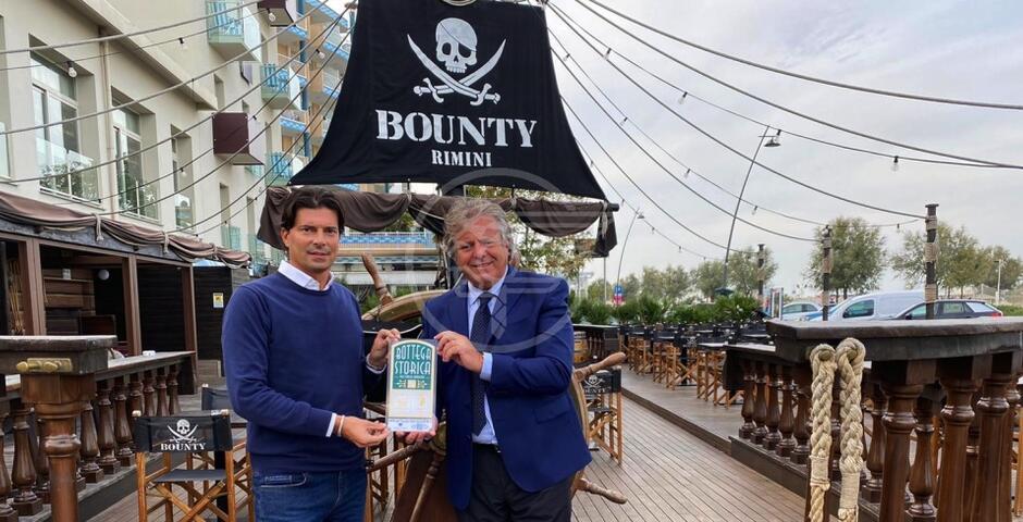 Il Bounty entra a far parte dell'Albo delle Botteghe Storiche