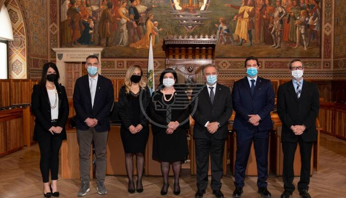 Due nuovi soci per l'associazione San Marino-Italia: i sindaci Spinelli e Bindi