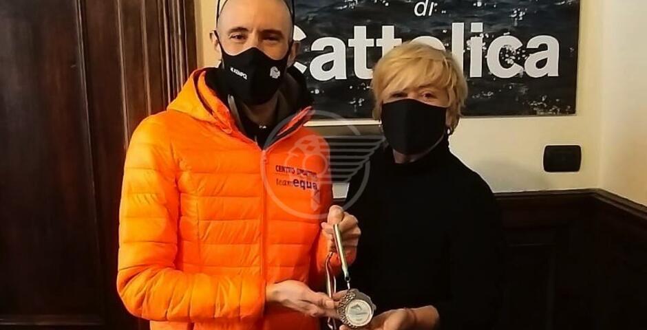 """La Regina ha un nuovo """"ambasciatore"""": il paraciclista Andrea Casadei"""