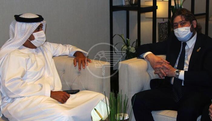 Pedini Amati a Dubai presenta il Titano alla stampa emiratina