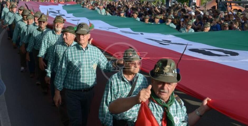 Spostata alla seconda settimana di maggio 2022 l'Adunata nazionale degli Alpini