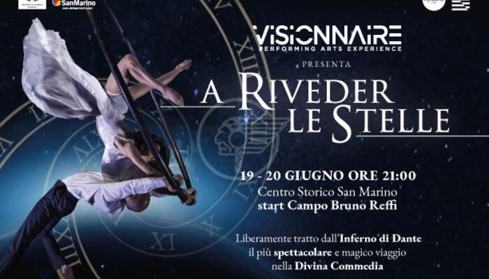 """Visionnaire """"A riveder le stelle"""": arriva il primo live show teatrale all'aperto"""