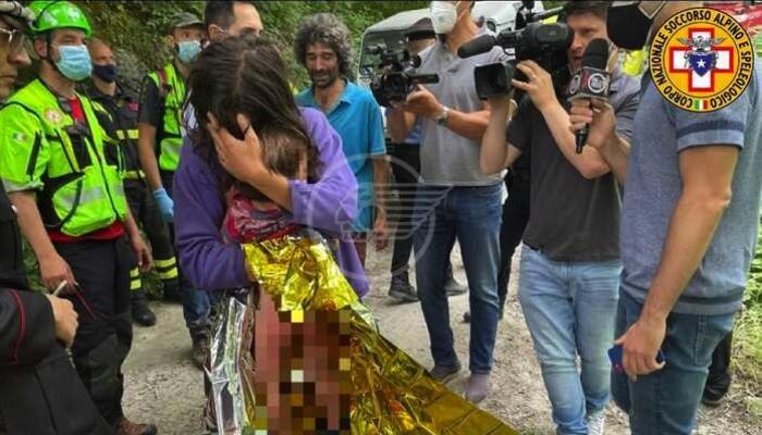 Nicola ritrovato vivo, era caduto in una scarpata: deve la vita ad un giornalista