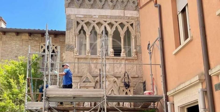 Completato il restauro della facciata della Cappella Petrangolini