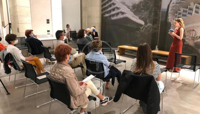 Grande successo per il racconto dantesco della Leardini alla Galleria Nazionale