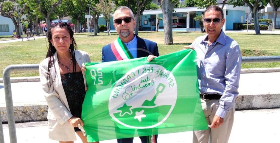 Nona bandiera verde consecutiva per una spiaggia adatta ai bambini