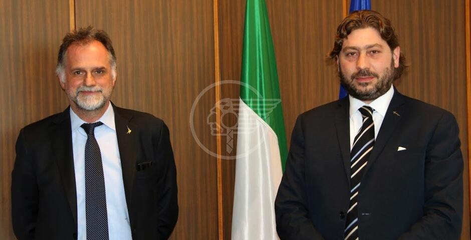 Il Ministro del Turismo Massimo Garavaglia in Visita Ufficiale sul Titano