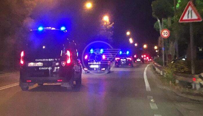 Carabinieri all'opera nella Notte Rosa: 4 arresti (3 rapinatori) e 2 denunce