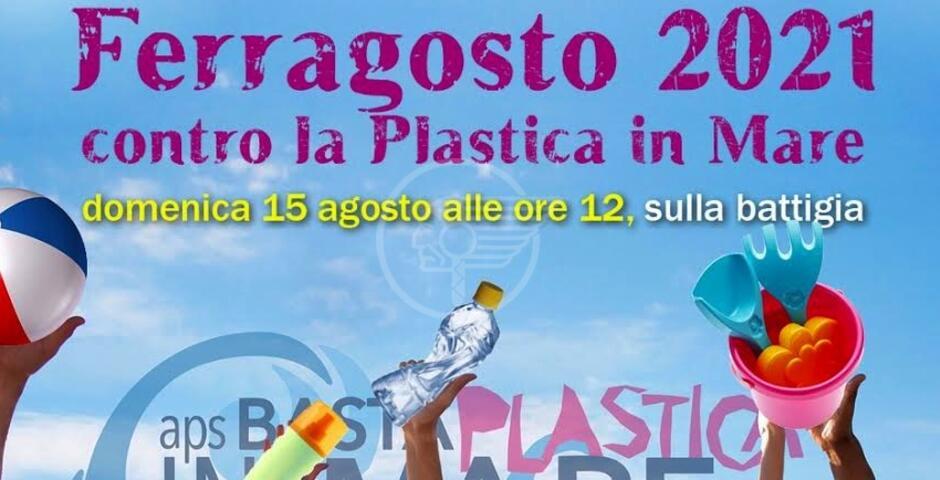 Parte da Rimini il flashmob di Ferragosto per dire basta alla plastica in mare