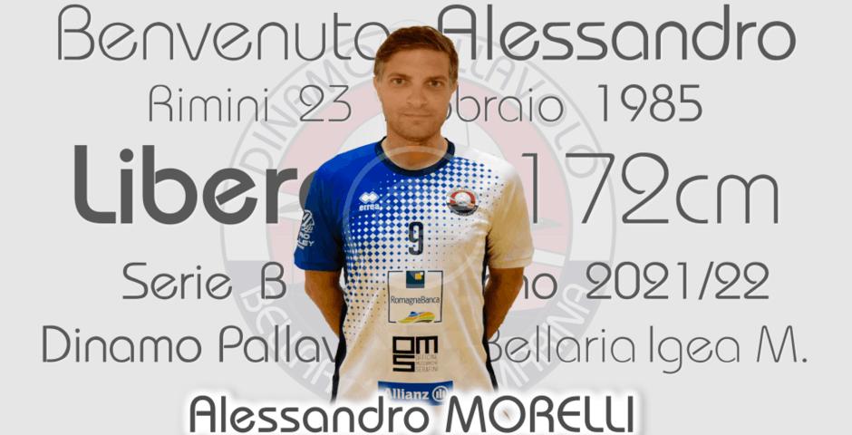 Volley: un libero d'esperienza per RomagnaBanca, è Alessandro Morelli