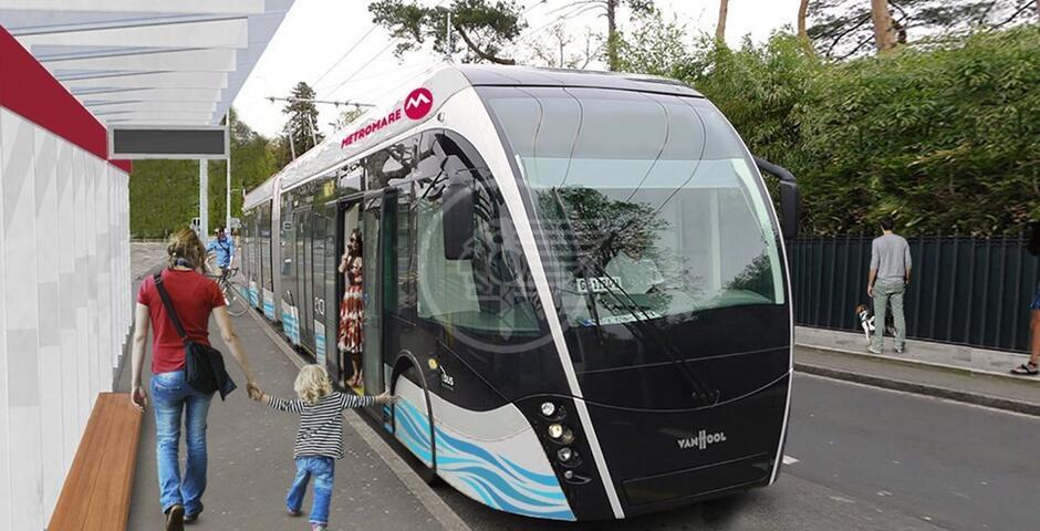 Il Metromare si ferma ancora per il collaudo dei mezzi a trazione elettrica