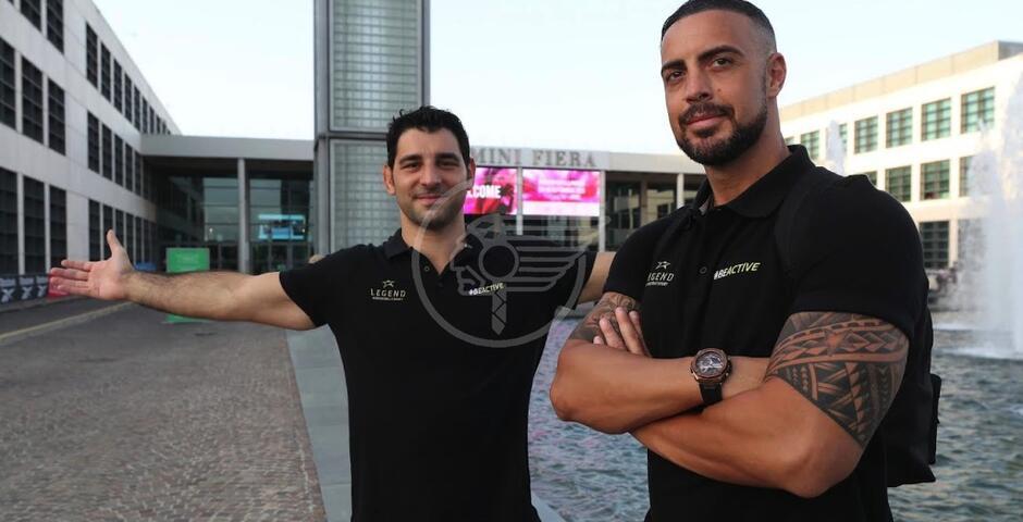 """Due lottatori alla Fiera del Wellness: Maniscalco e Minguzzi alla """"Be Active Night"""""""