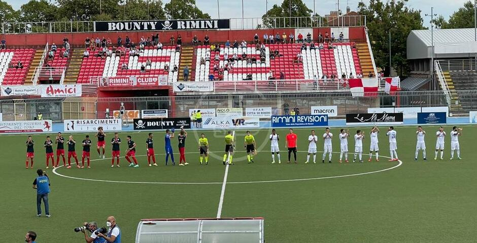 Buona la prima: biancorossi travolgenti, Prato ko (3-0) con reti di Tomassini (2) e Tanasa