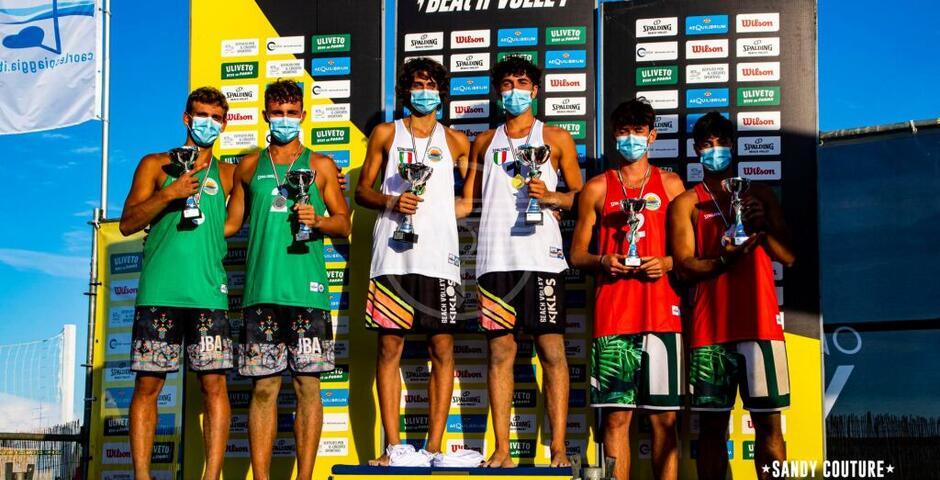 La Dinamo esulta: un oro e un bronzo ai campionati nazionali di beach volley