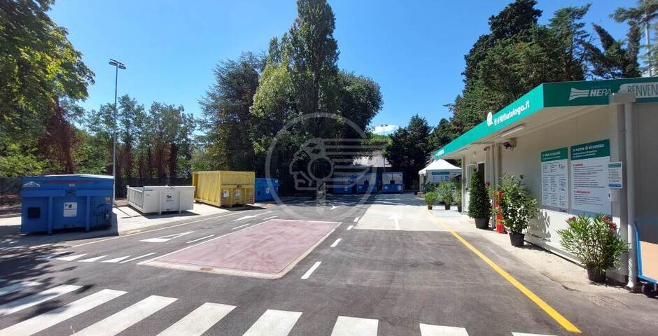 In aumento l'affluenza alla stazione ecologica Hera di via Nataloni dopo il restyling