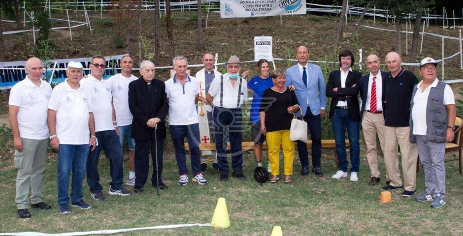 Inaugurato il pistino ciclistico MTB dedicato alla memoria di Michael Antonelli
