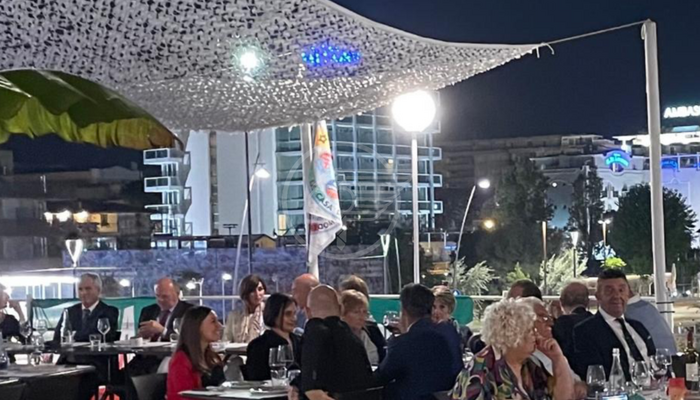 Lista dei moderati a cena a Rimini