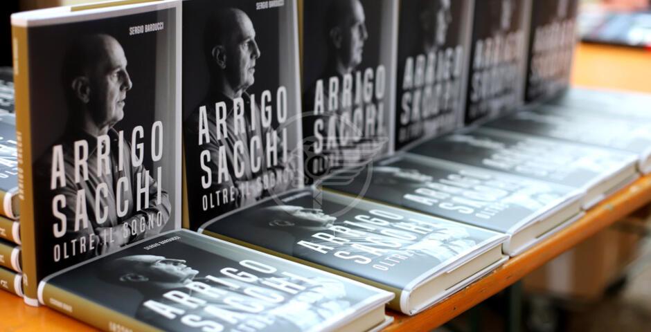 Presentato il nuovo libro di Sergio Barducci dedicato ad Arrigo Sacchi