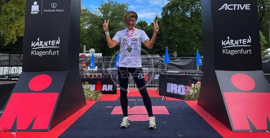 Roberta Liguori tra i vincitori dell'Ironman vola al leggendario mondiale di Kona alle Hawaii