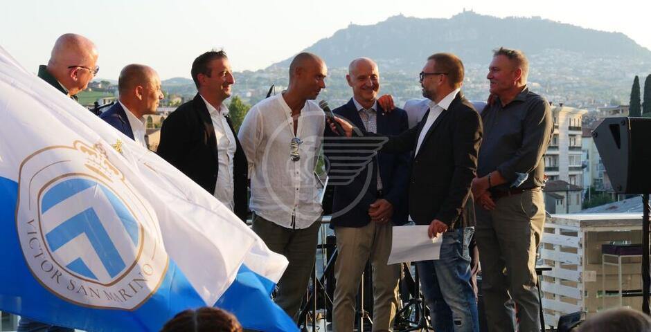 Calcio: entusiasmo e curiosità per il Victor San Marino. Rosa e staff tecnico