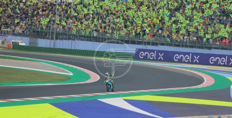 In 35mila per l'addio in Italia di Rossi. Nel 2022 Motogp al World Circuit il 4 settembre
