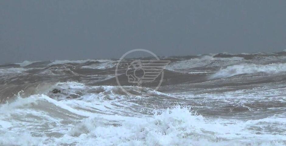 Vento forte e mare molto mosso: allerta arancione sulla costa adriatica