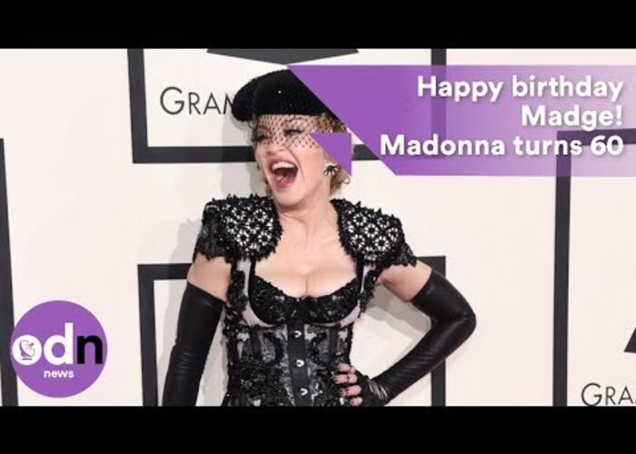 Auguri a Madonna per i suoi 60 anni festeggiati a Marrakesh