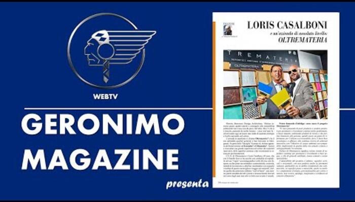 Vittorio Pietracci intervista Loris Casalboni di Oltremateria