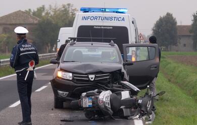 Immagine News - scooter-contro-auto-centauro-in-ospedale