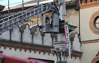 Immagine News - ravenna-sale-sulla-statua-di-s.apollinare-in-piazza-del-popolo